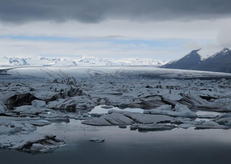 Jökursarlon auf Island