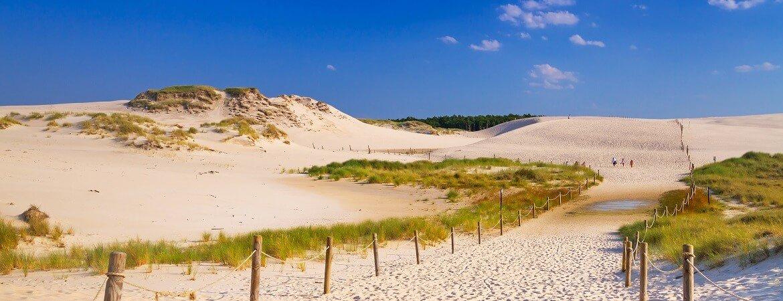 Ostseeküste in Polen