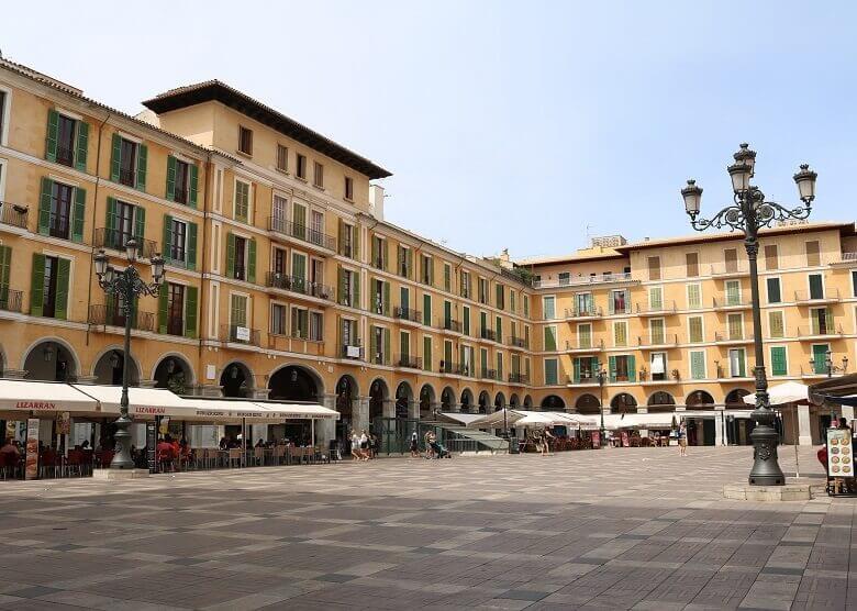 Stadtplatz von Palma de Mallorca