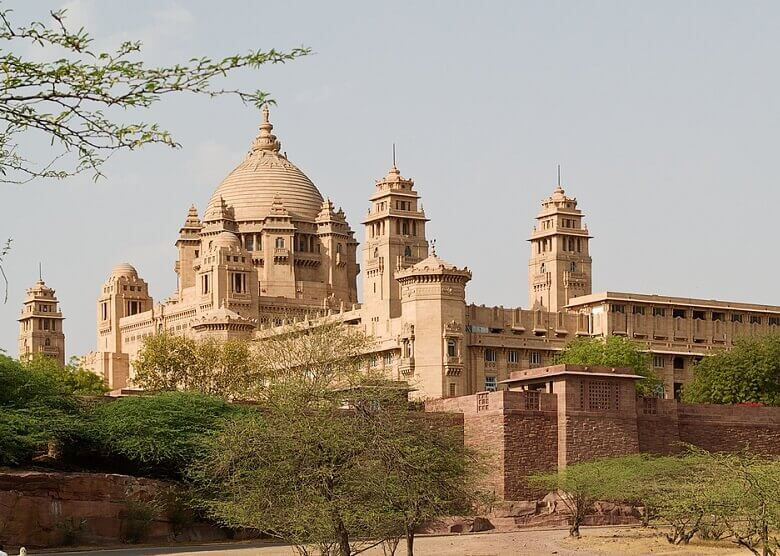 Umaid Bhawan Palace in Indien