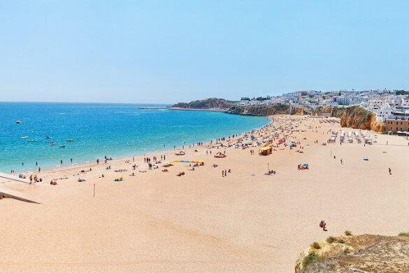 Albufeira an der Algarve