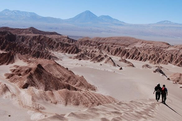 Atacama-Wüste in Chile