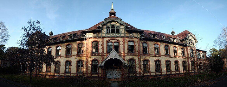 Beelitz-Heilstätten von außen