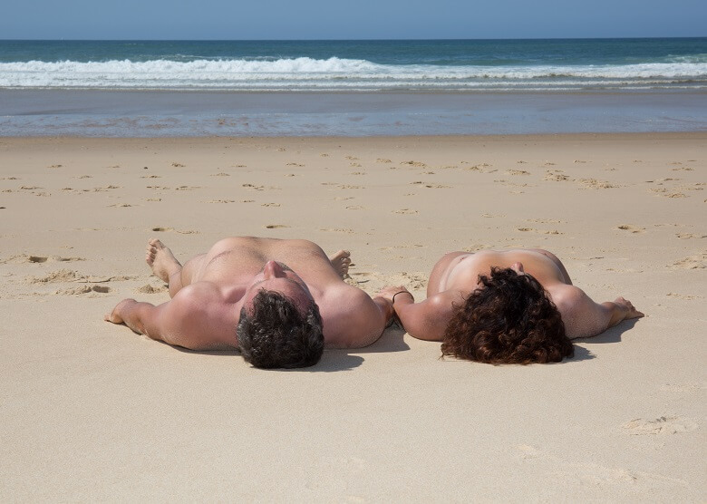 FKK-Paar am Strand