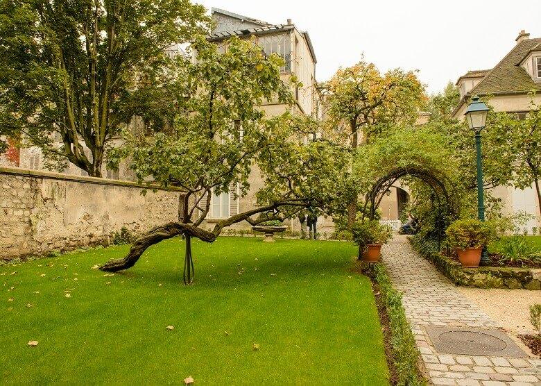 Garten des Museums, Montmartre