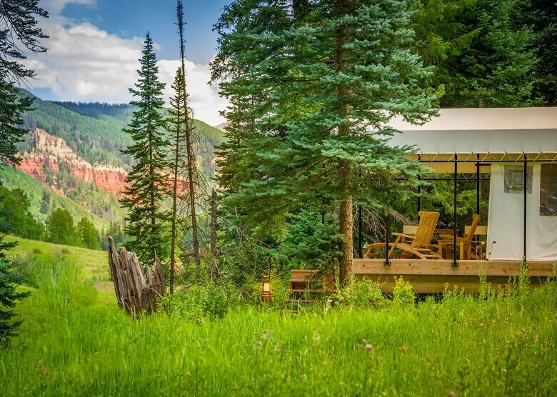 Glamping in den USA