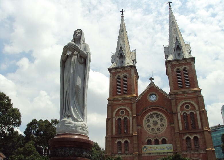 Kathedrale in Saigon
