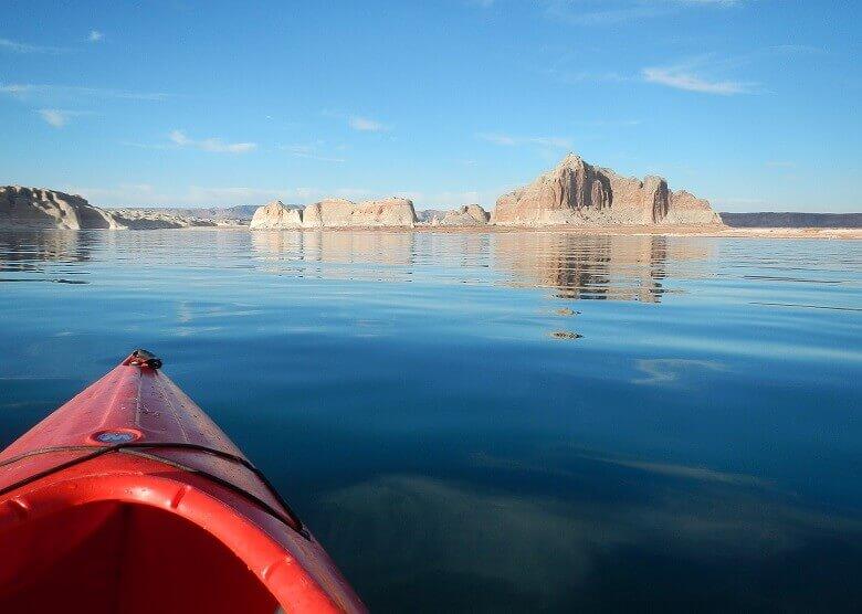 Kayaking am Lake Powell