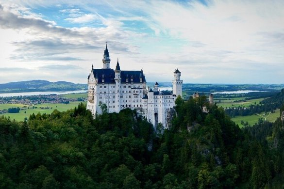 Neuschwanstein in Bayern