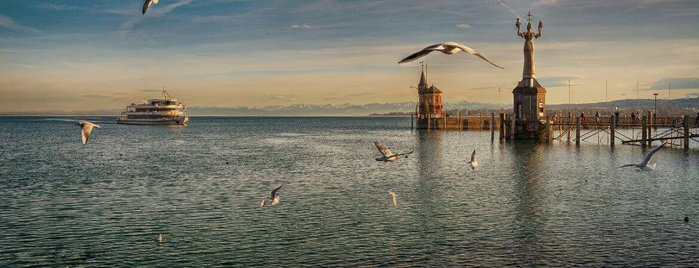 Es gibt eine Vielzahl von Sehenswürdigkeiten am Bodensee