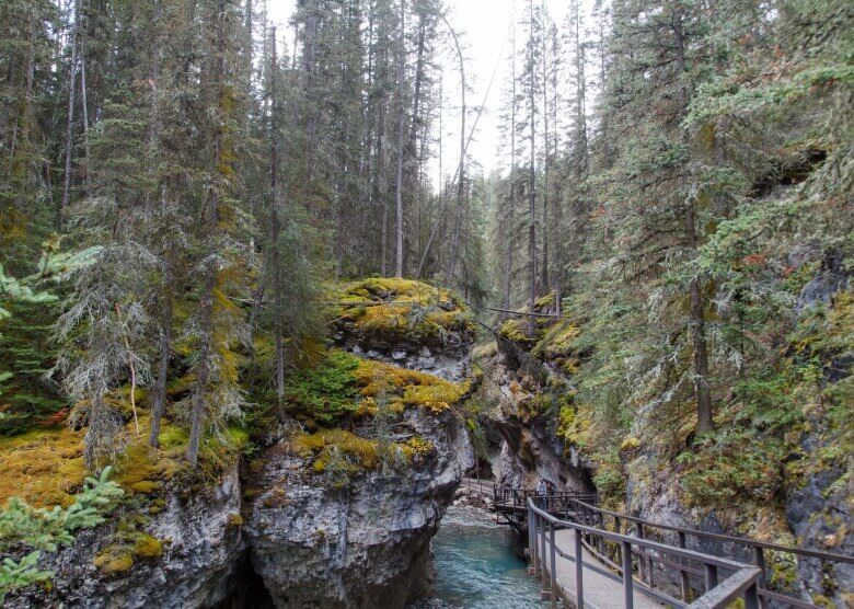 Das Johnston Canyon Resort in Kanada