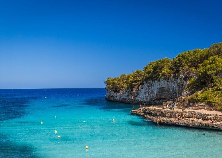 Die Cala Llombards auf Mallorca