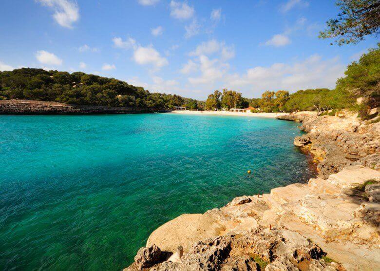 Die Cala Mondrago, eine der schönsten Mallorca-Buchten