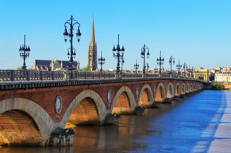 Brücke in Bordeaux