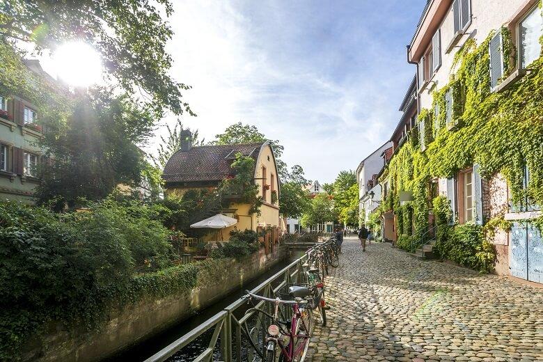 Altstadt in Freiburg