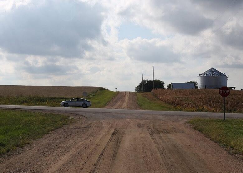 Straße in Nebraska