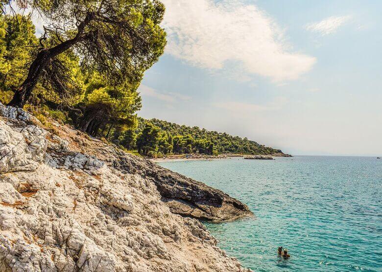 Strand auf Skopelos