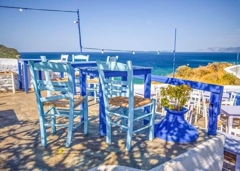 Ausblick auf Skopelos