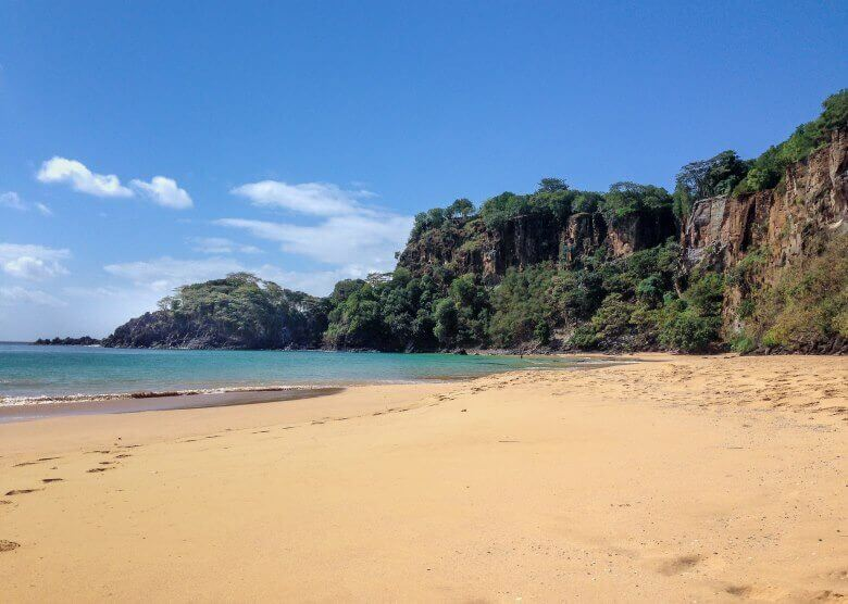 Der Baia do Sancho in Brasilien