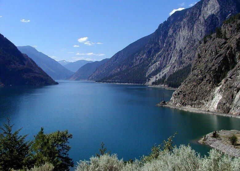 Die Wildnis in British Columbia