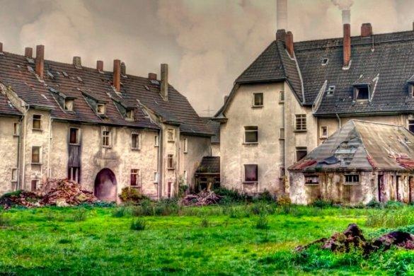 Die Arbeitersiedlung Schlägel & Eisen bei Gladbeck ist einer der faszinierenden Lost Places in NRW