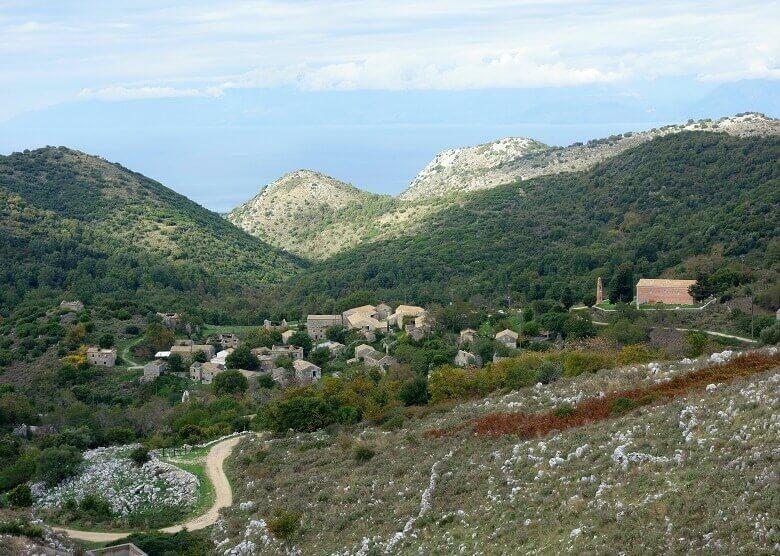 Paleo Perithia, Korfu