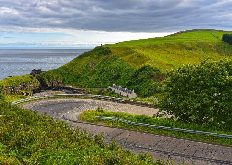 Perfekt für Roadtrips: Schottland