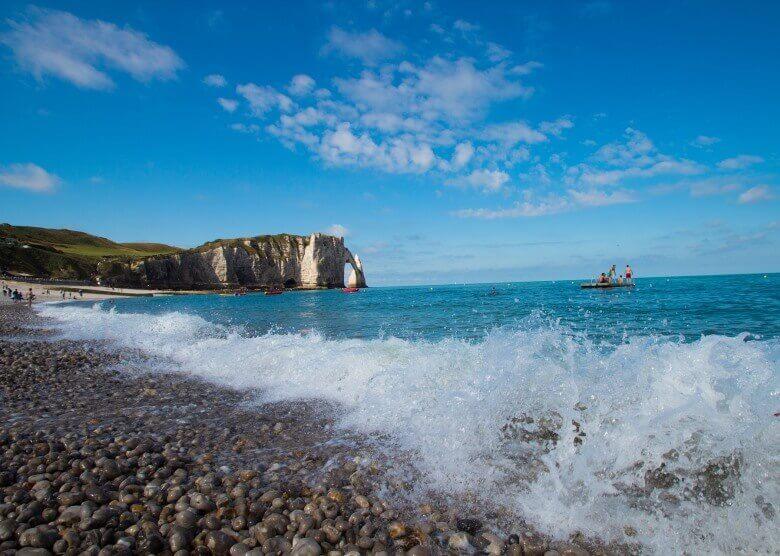 Atlanktik-Küste in Frankreich