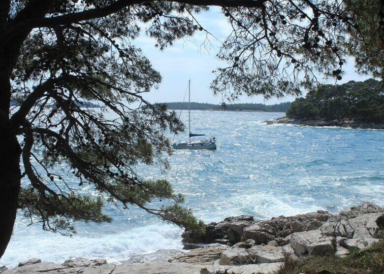 Istrien an der kroatischen Küste