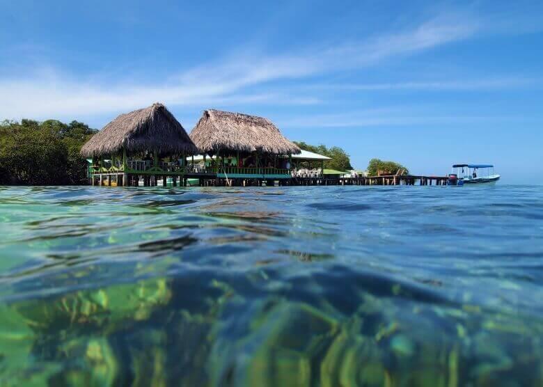 Aufwachen mit Blick aufs Meer in Bocas del Toro