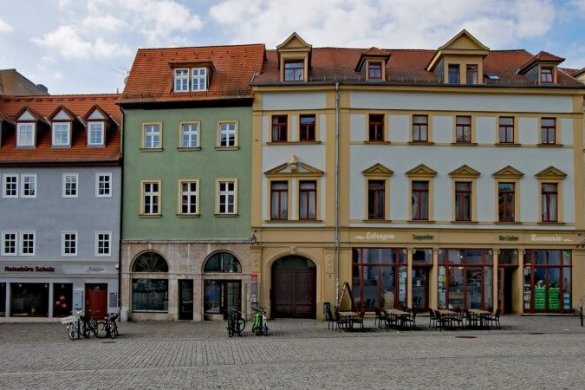 Der Herderplatz in Weimar