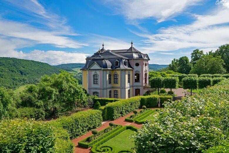 Rokokoschloss Dornburg in Dornburg-Camburg