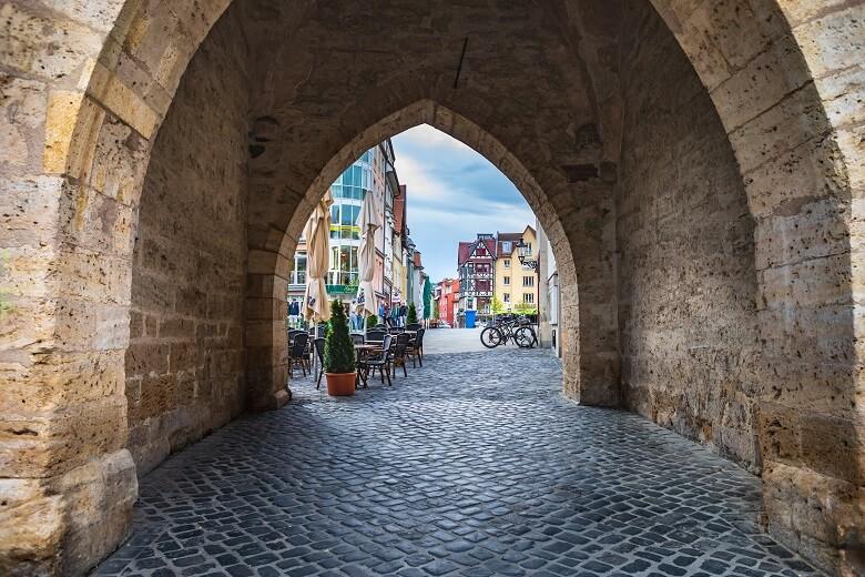 Altstadt von Jena in Thüringen