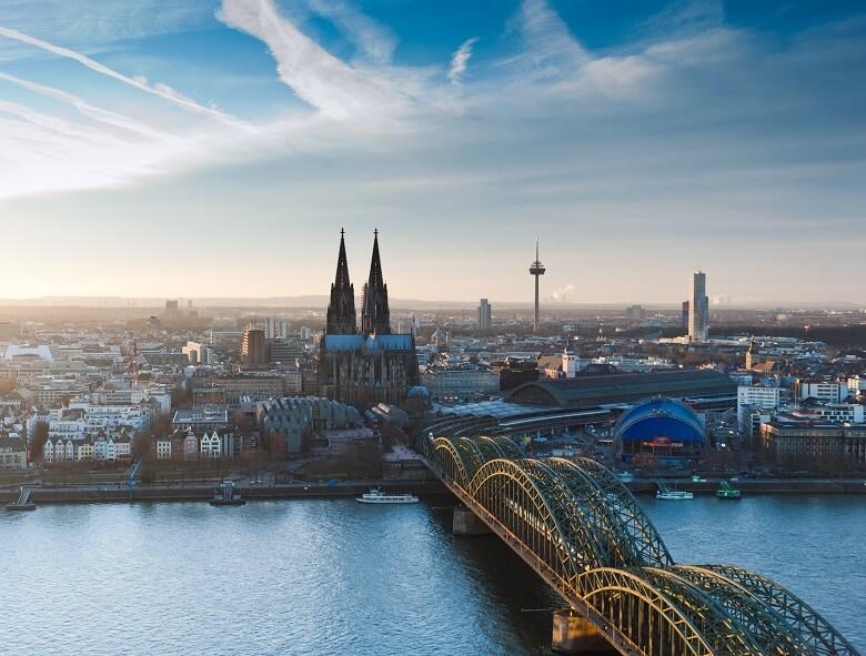 Blick über Köln