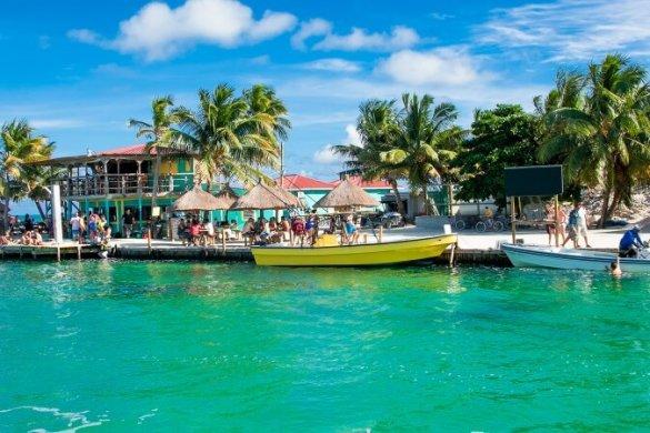 Karibik-Traum: Die Insel Caye Caulker vor Belize