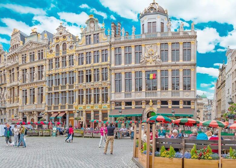 Der Grote Markt in Brüssel