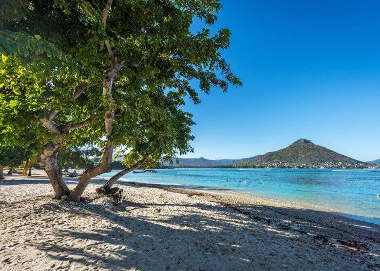 Traumhafte Kulisse: Flic en Flac auf Mauritius
