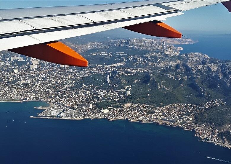 Anflug auf Marseille