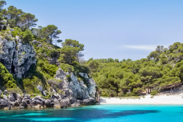 Cala Macarelleta auf Menorca