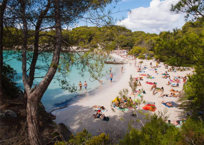 Cala Turqueta auf Menorca