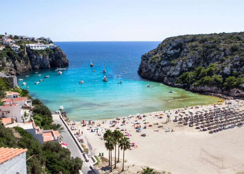 Cala en Porter auf Menorca