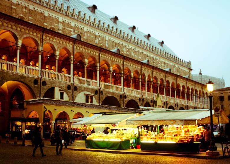 Markt in Padua