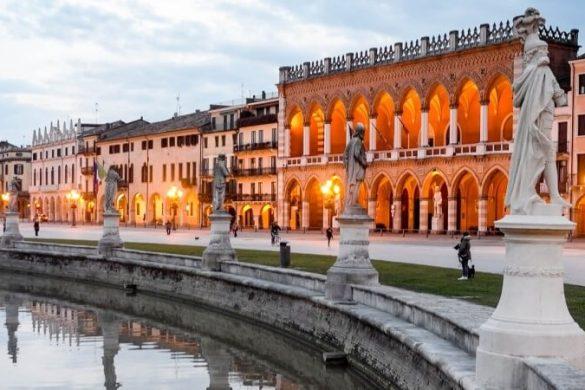 Der Prato delle Valle in Padua