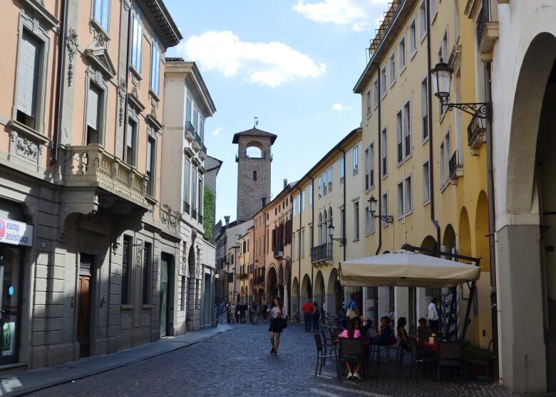 Straße in Padua