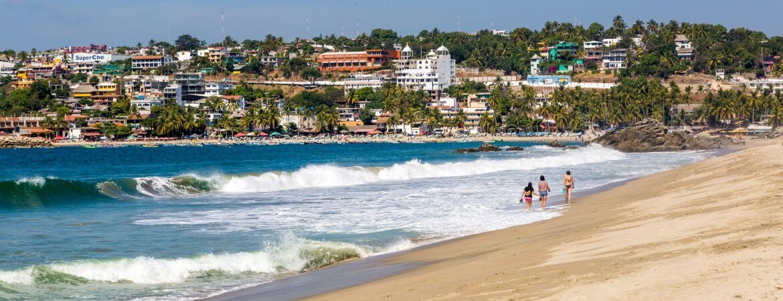 Puerto Escondido, ein Paradies im Mexiko