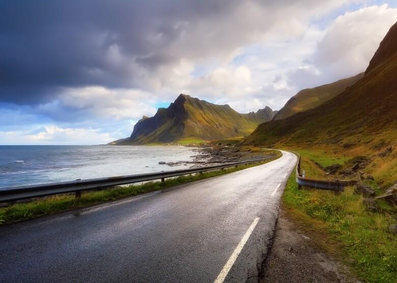 Roadtrips im April: Lofoten