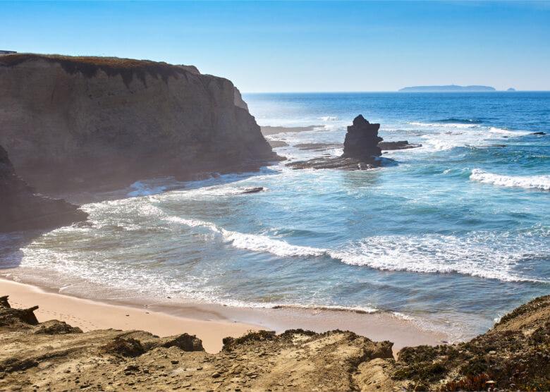 Beeindruckend schön: der Strand von Peniche