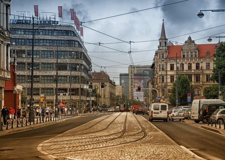 Innenstadt von Breslau