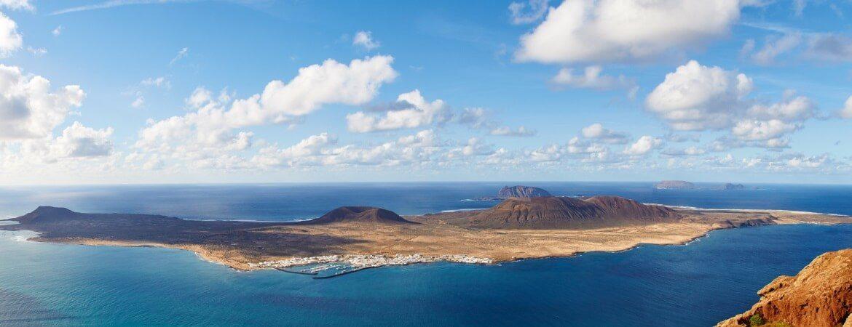 Blick über die Kanaren-Inseln
