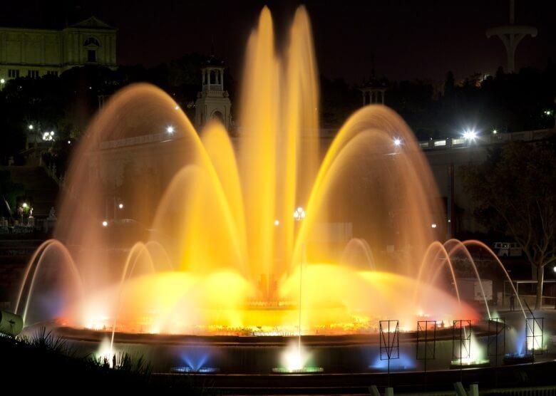 Der erste der Barcelona-Tipps: Font Màgica an der Plaza de España